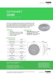 Clipsal - CE250 - Ceiling Exhaust Fan, Axial, 250mm