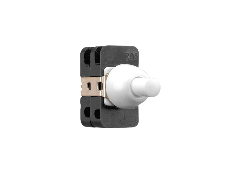Clipsal - PBS236 - Push Button Switch, 2A, Double Pole, Wilco, White ...