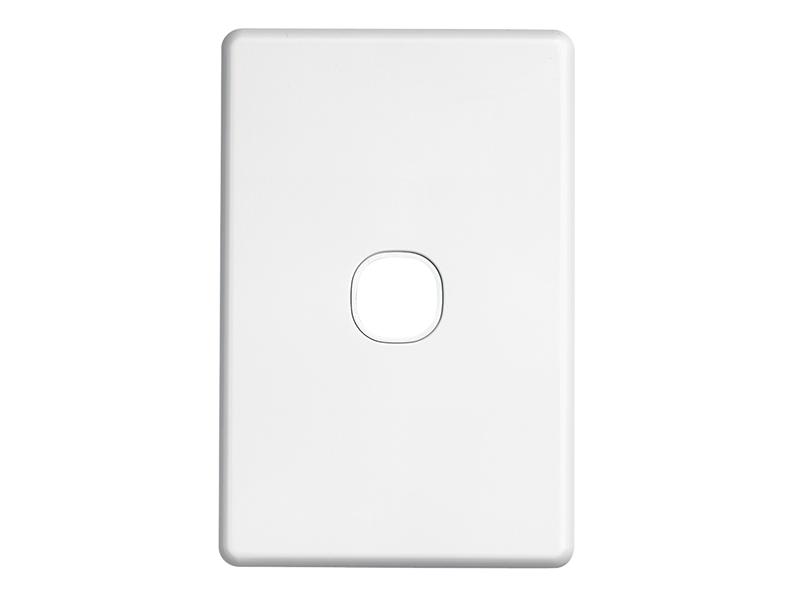 clipsal c2031vh switch grid plate and cover 1 gang less