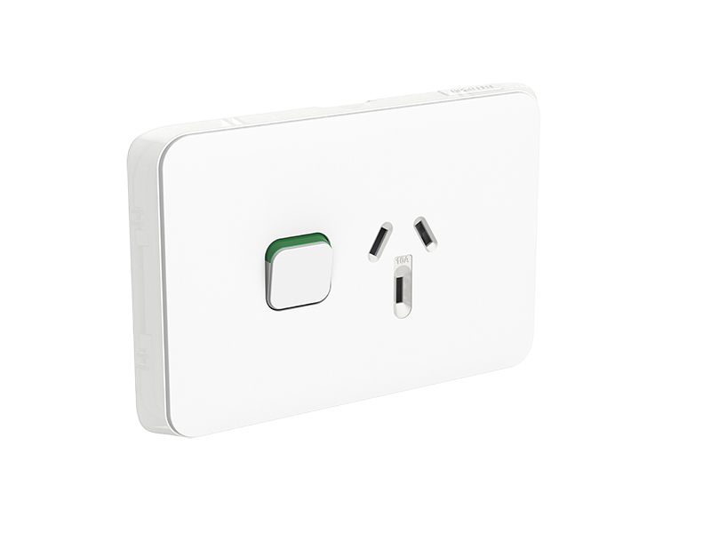 Clipsal 3015 clipsal iconic single switch socket outlet 3015 clipsal iconic single switch socket outlet horizontal mount 250v 10a asfbconference2016 Images