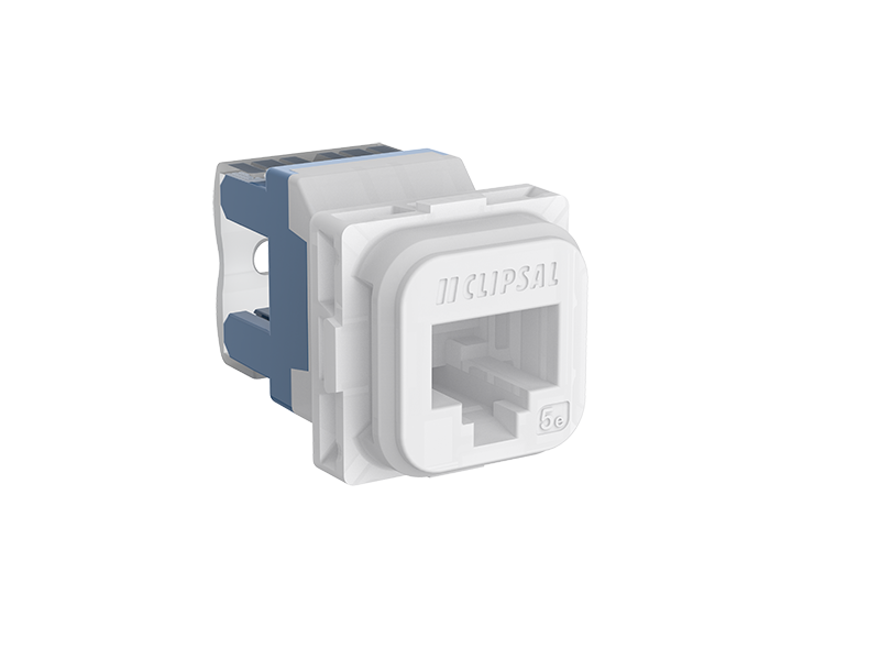 A000599734 clipsal 30rj45sma5 modular socket, category 5e, rj45, yellow clipsal rj45 socket wiring diagram at nearapp.co