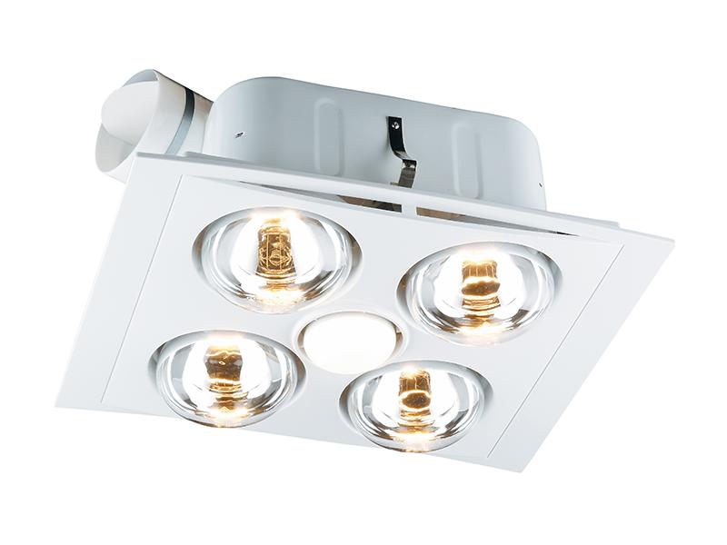 Clipsal 7500ATP Fan Light Heater Unit 3 in 1 4 x