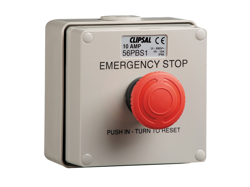 Clipsal 56pbs1 Push Button Control Station 3a