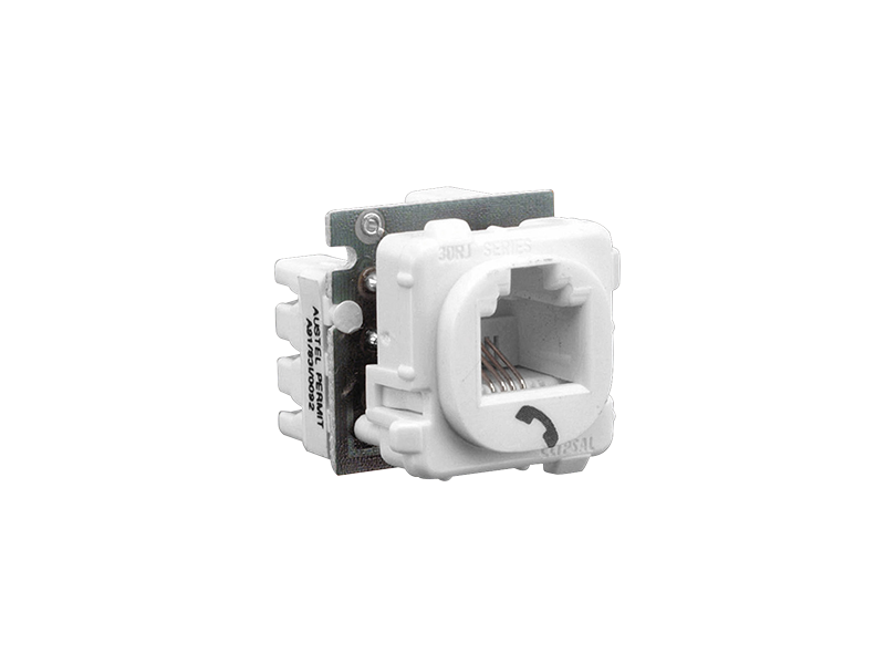 J0000139 clipsal 30rj66smt modular socket, category 3, 6 way, 6 contact modular telephone jack wiring diagram at panicattacktreatment.co