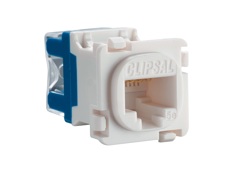 clipsal 30rj45sma5 modular socket category 5e rj45 yellow rh clipsal com clipsal rj45 socket wiring diagram australia clipsal rj45 wall socket wiring