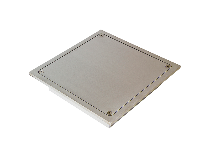 FBSS4IP Floor Box, Square, Stainless Steel