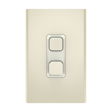 Clipsal Iconic Styl Switch Plate Skin, Vertical/Horizontal, COOKER, 45A